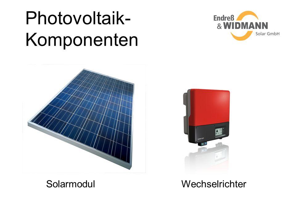 Photovoltaik-Komponenten