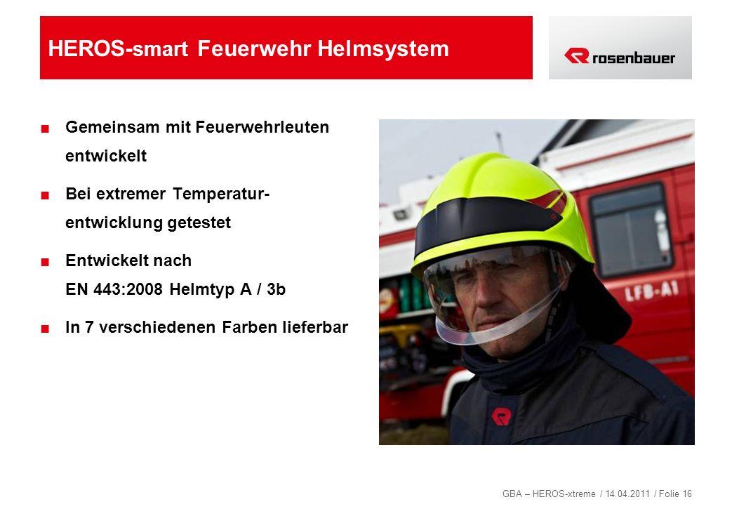 HEROS-smart Feuerwehr Helmsystem
