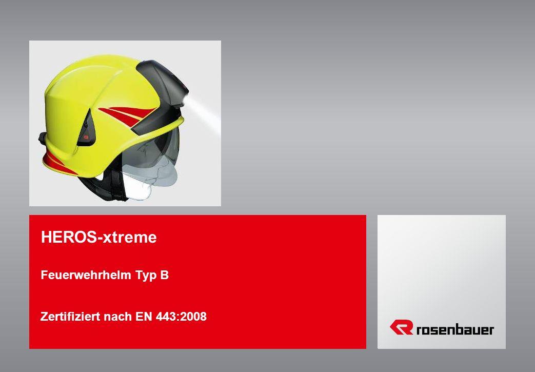 Feuerwehrhelm Typ B Zertifiziert nach EN 443:2008