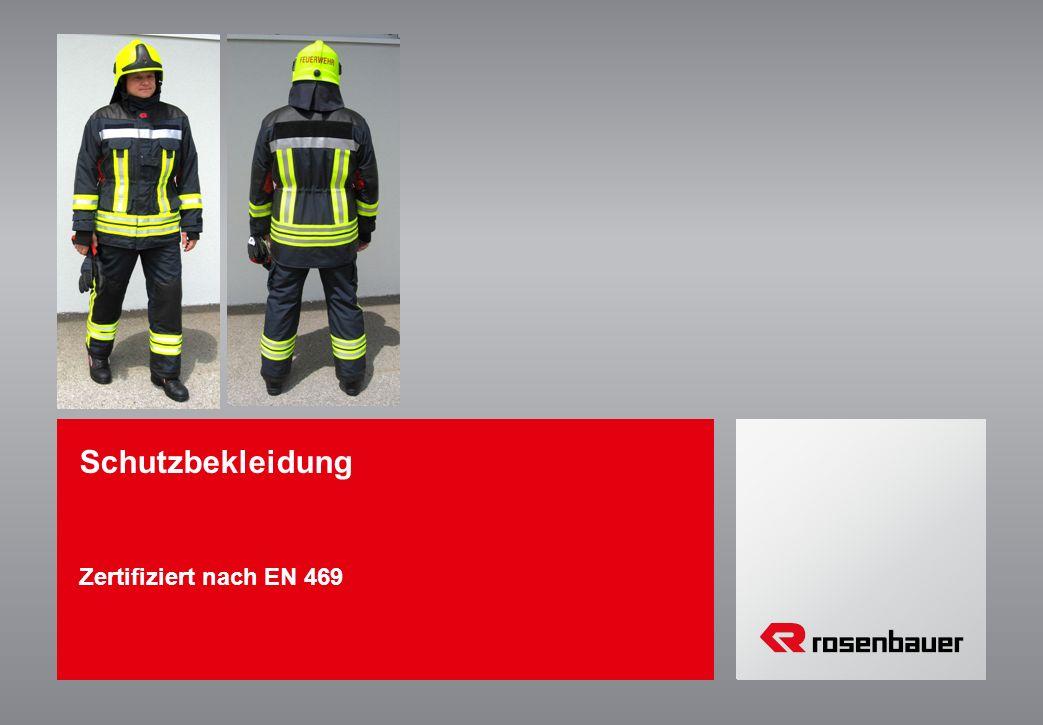 Schutzbekleidung Zertifiziert nach EN 469