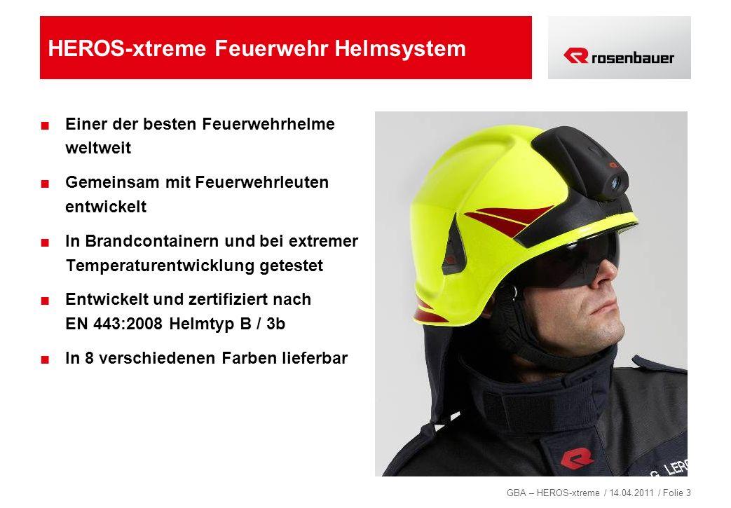 HEROS-xtreme Feuerwehr Helmsystem
