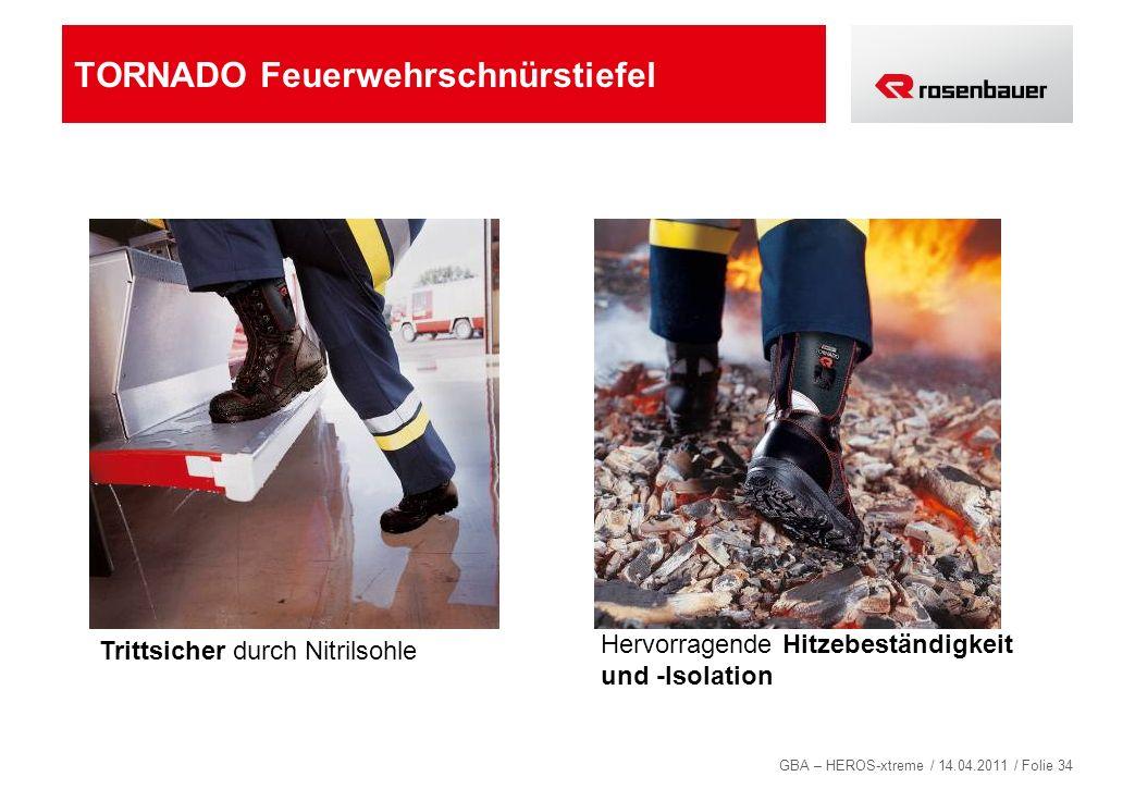TORNADO Feuerwehrschnürstiefel