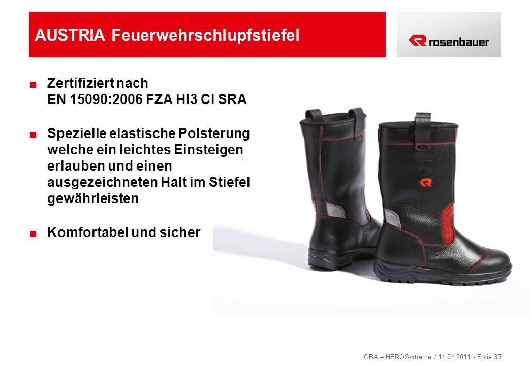 AUSTRIA Feuerwehrschlupfstiefel