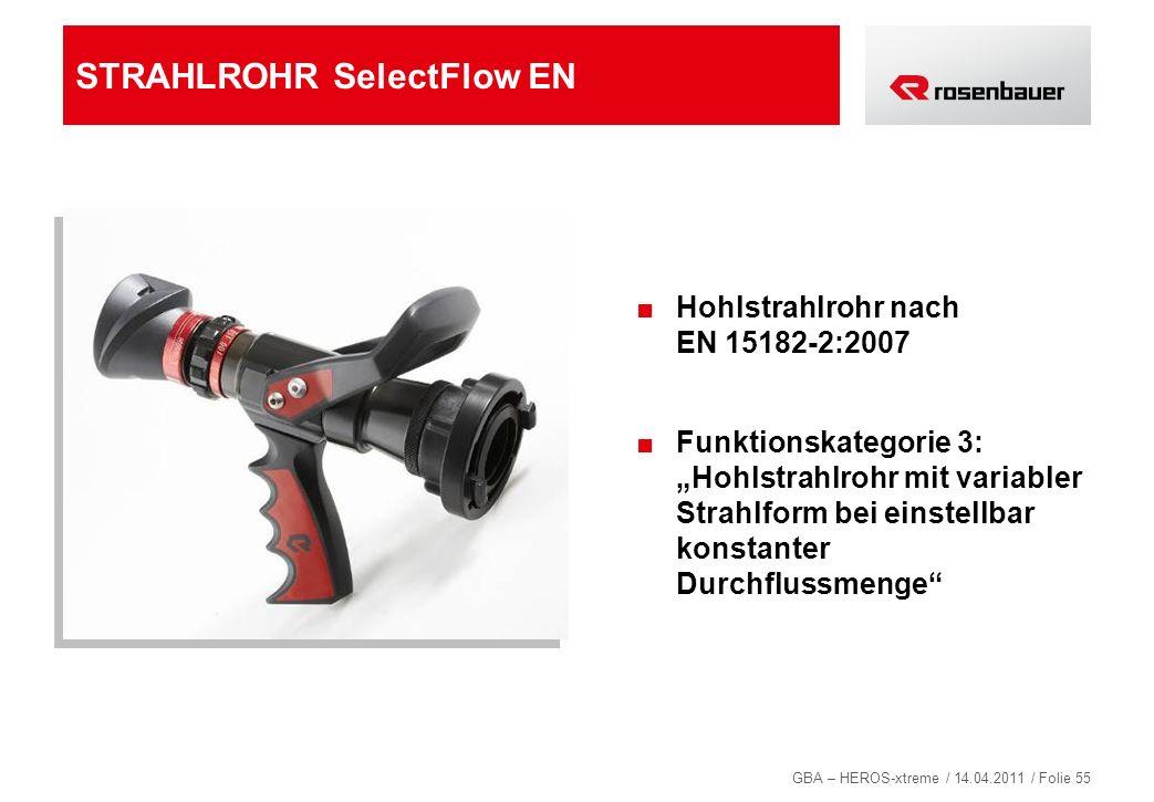 STRAHLROHR SelectFlow EN