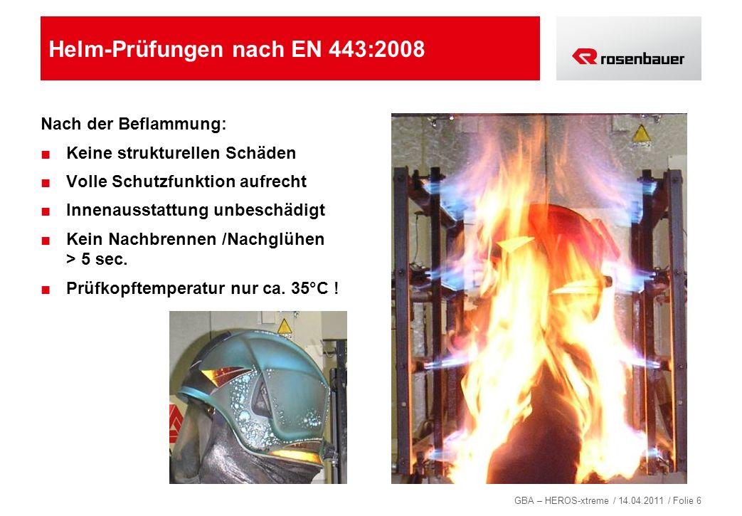 Helm-Prüfungen nach EN 443:2008