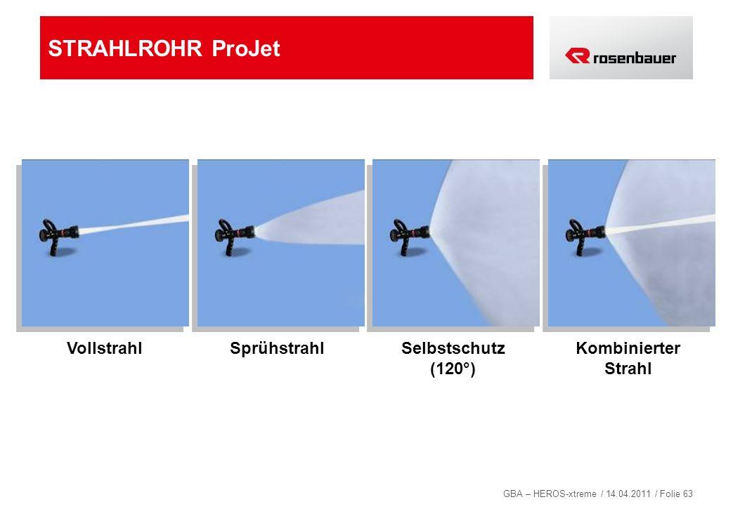 STRAHLROHR ProJet Vollstrahl Sprühstrahl Selbstschutz (120°)