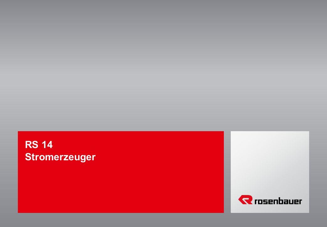 RS 14 Stromerzeuger