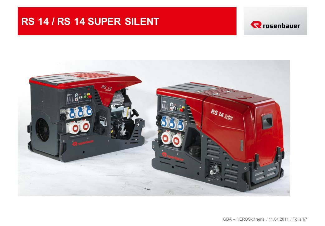 RS 14 / RS 14 SUPER SILENT 67