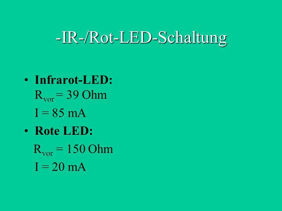IR-/Rot-LED-Schaltung