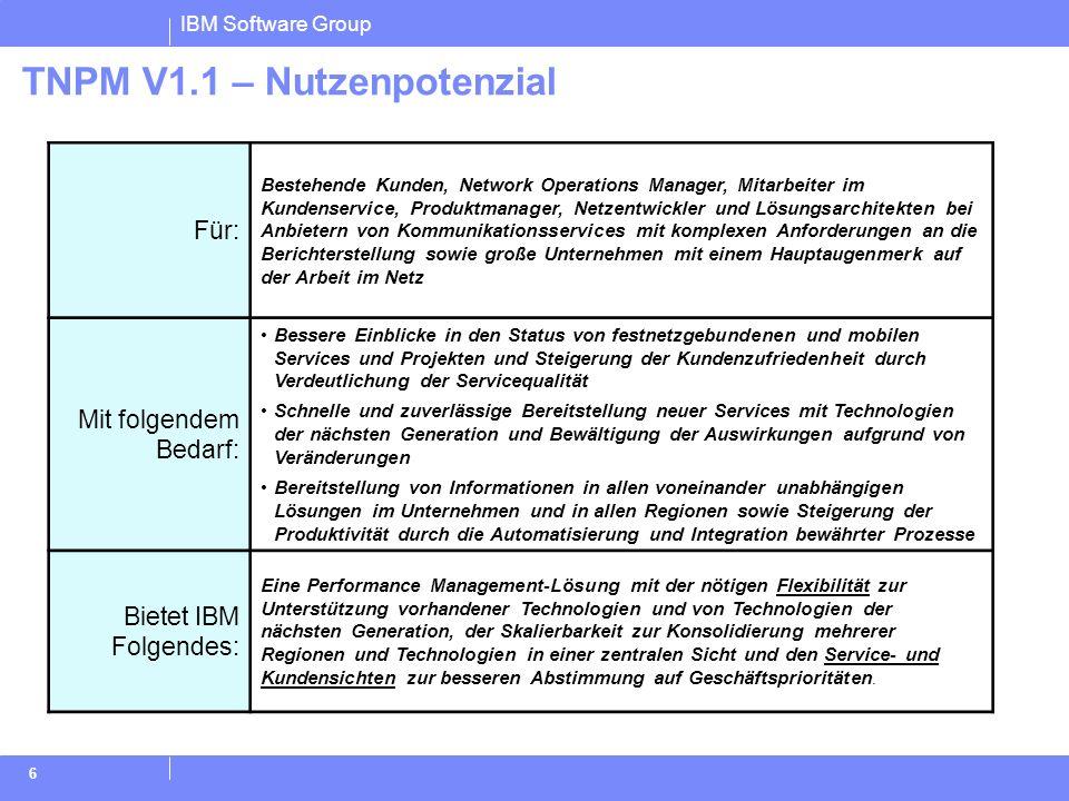 TNPM V1.1 – Nutzenpotenzial