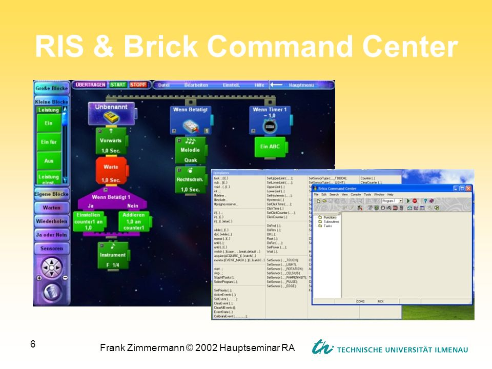 RIS & Brick Command Center