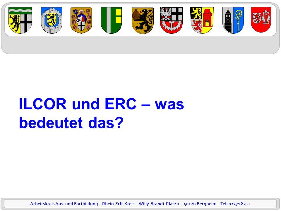 ILCOR und ERC – was bedeutet das