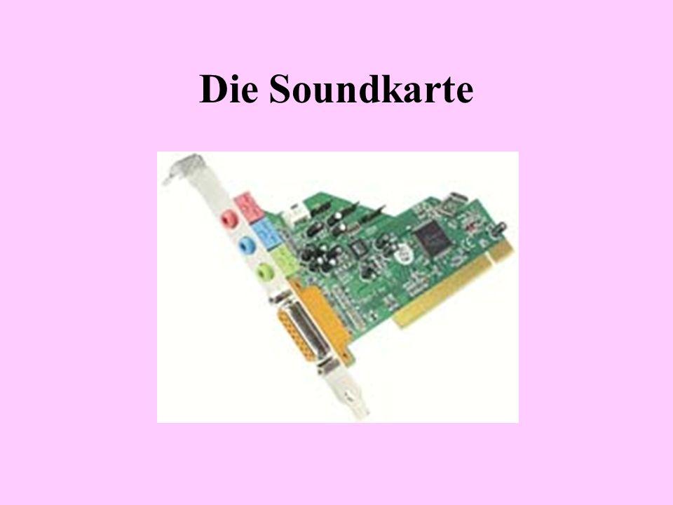 Die Soundkarte