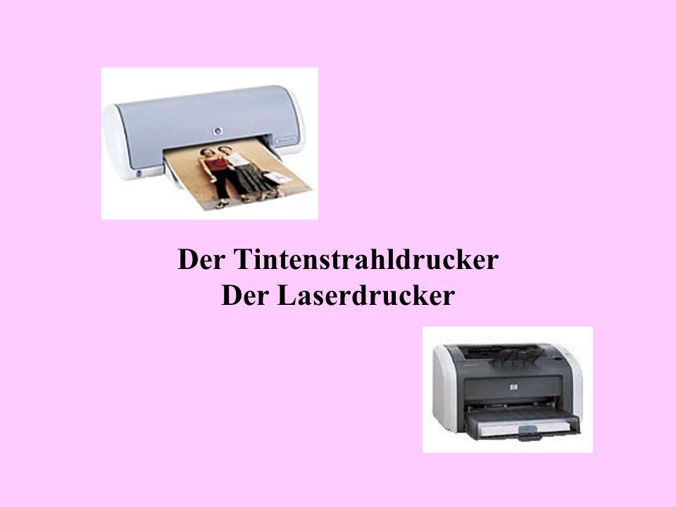 Der Tintenstrahldrucker Der Laserdrucker