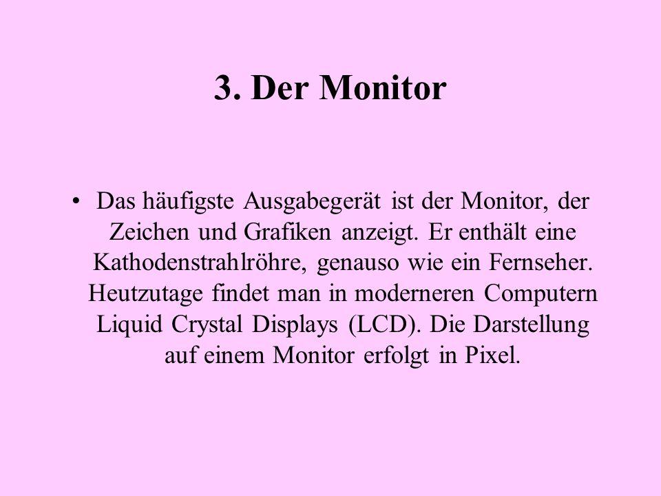 3. Der Monitor