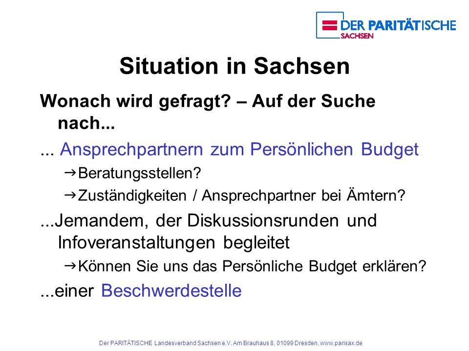 Situation in Sachsen Wonach wird gefragt – Auf der Suche nach...
