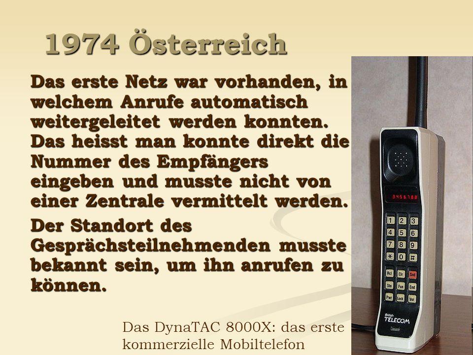 1974 Österreich