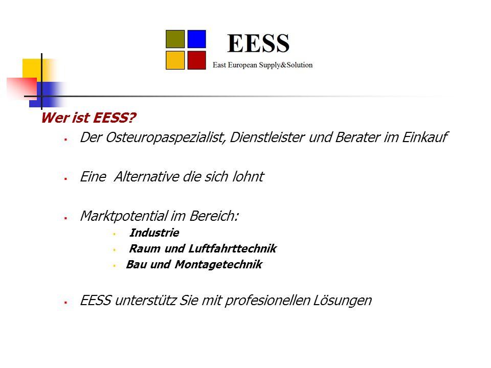 Der Osteuropaspezialist, Dienstleister und Berater im Einkauf