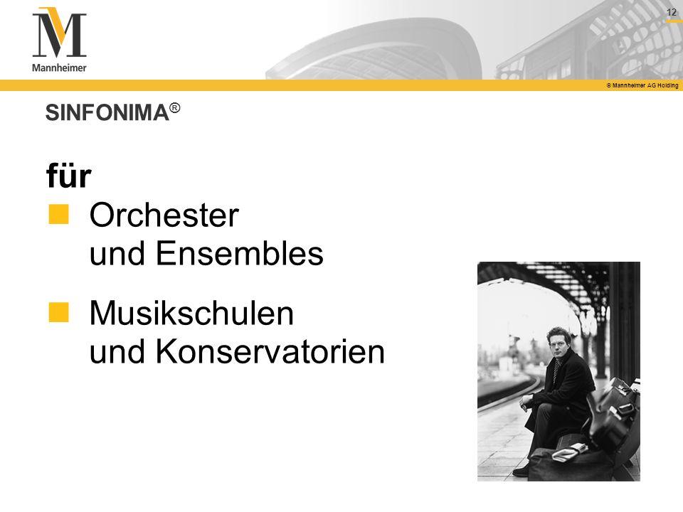 Orchester und Ensembles Musikschulen und Konservatorien