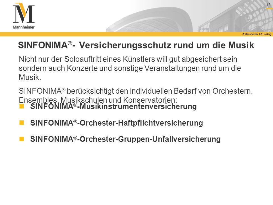 SINFONIMA®- Versicherungsschutz rund um die Musik