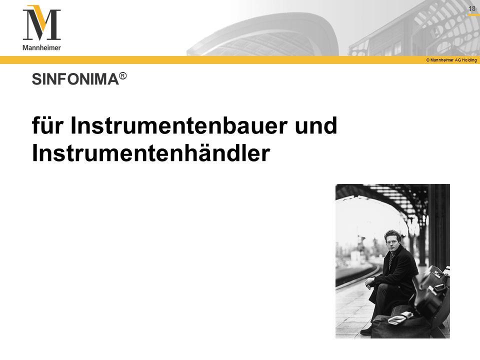 für Instrumentenbauer und Instrumentenhändler