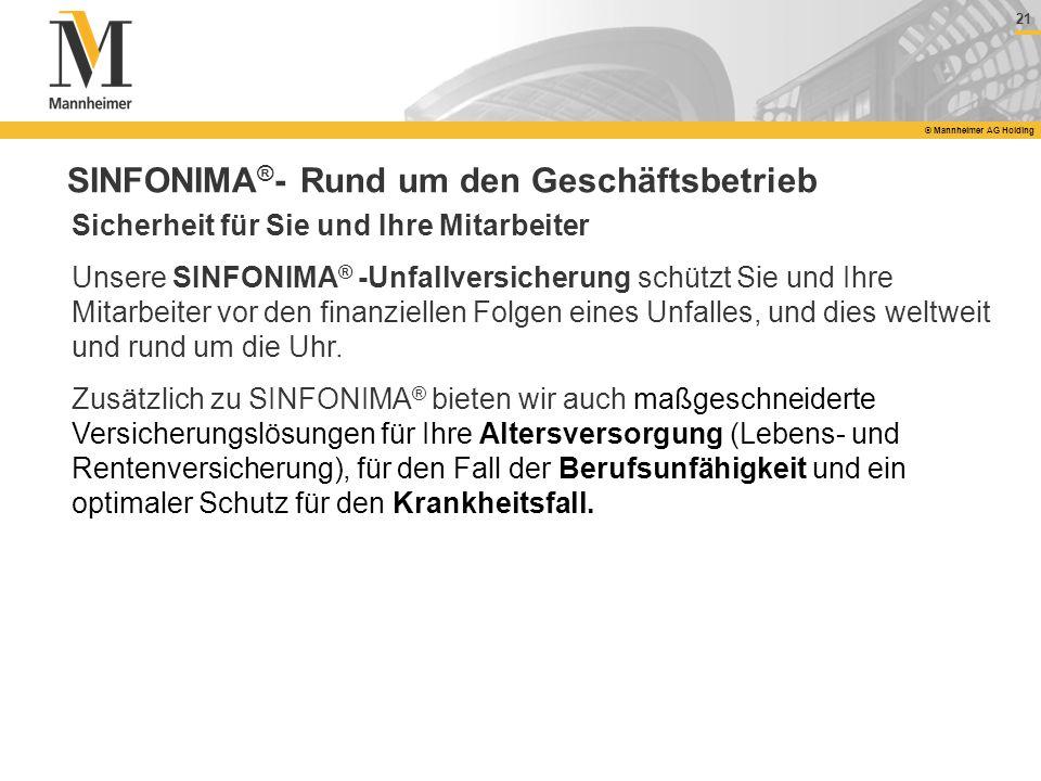 SINFONIMA®- Rund um den Geschäftsbetrieb