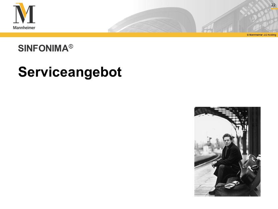 SINFONIMA® Serviceangebot