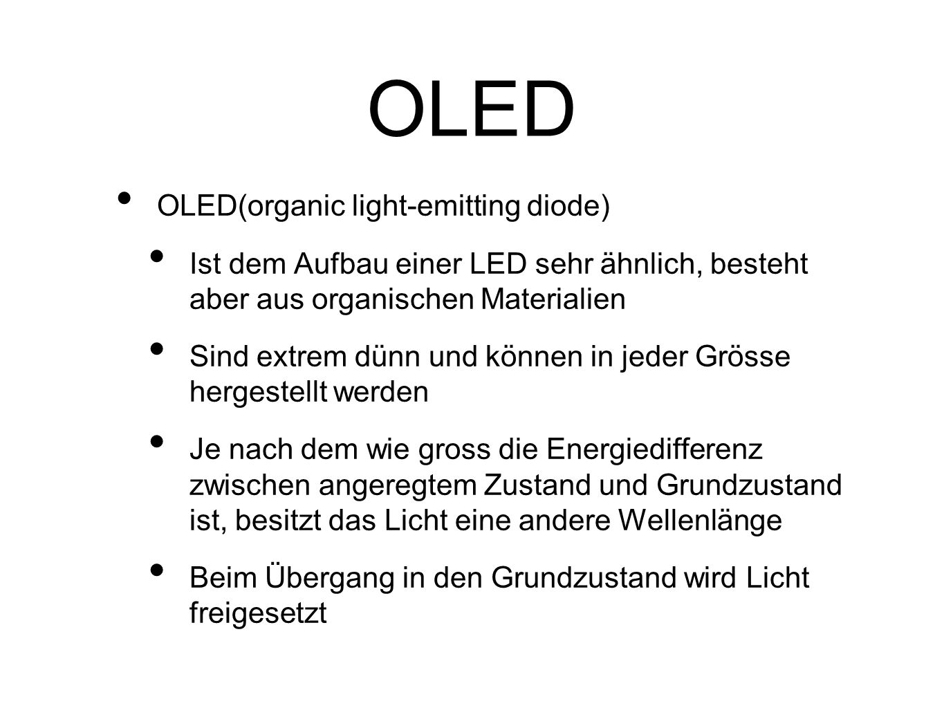 OLED OLED(organic light-emitting diode)