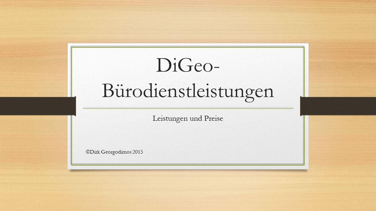 DiGeo-Bürodienstleistungen