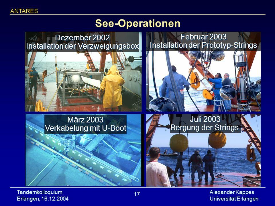 See-Operationen Dezember 2002 Februar 2003