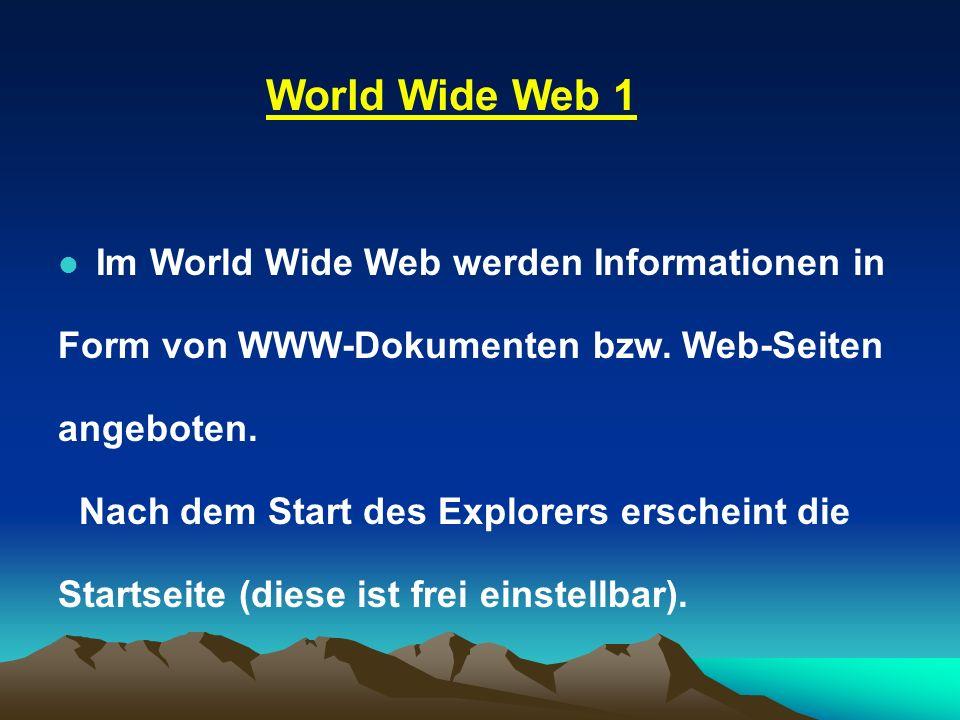 World Wide Web 1