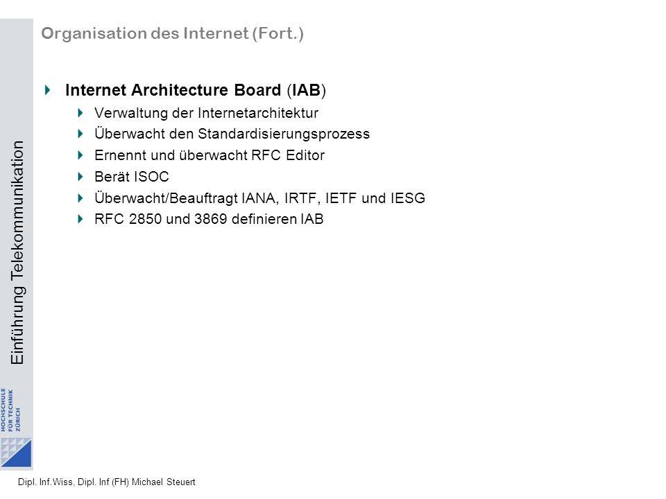 Organisation des Internet (Fort.)