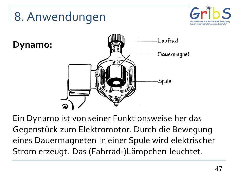 8. Anwendungen Dynamo: