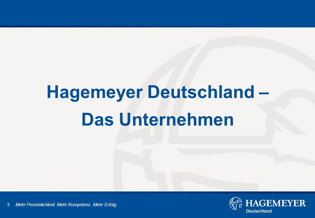 Hagemeyer Deutschland – Das Unternehmen