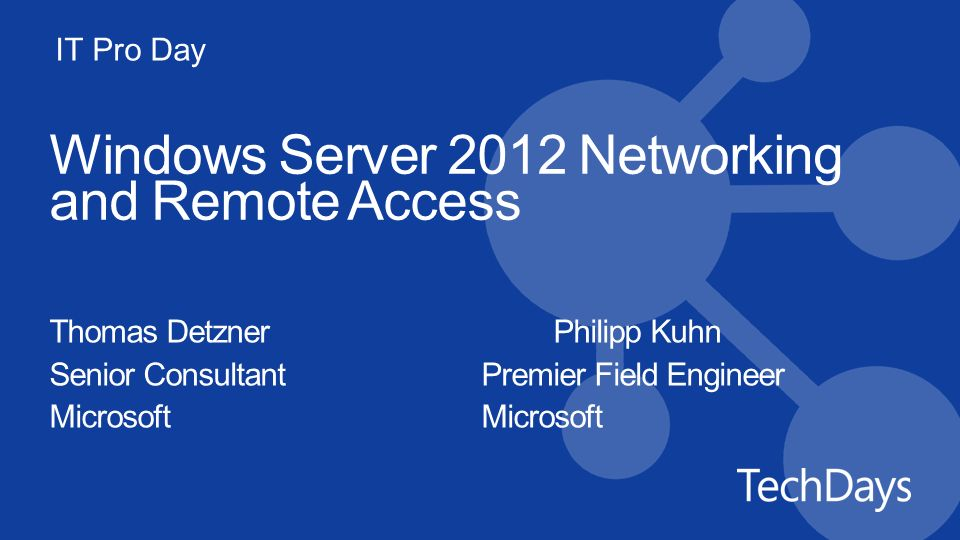 Windows Server 2012 Networking and Remote Access