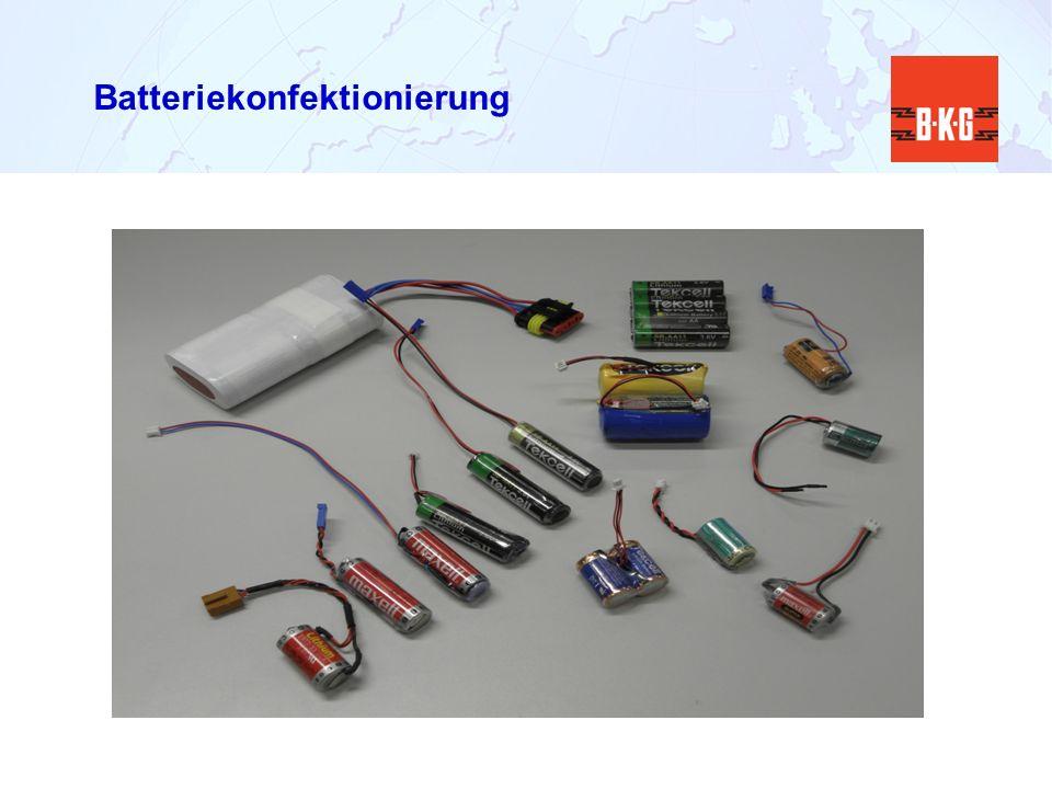 Batteriekonfektionierung