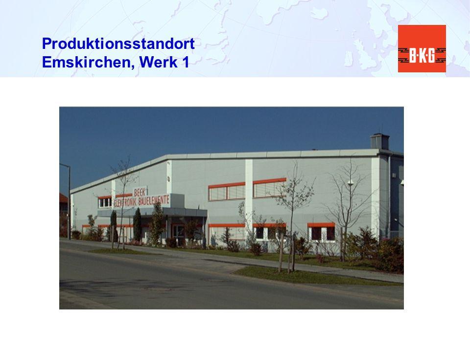 Produktionsstandort Emskirchen, Werk 1
