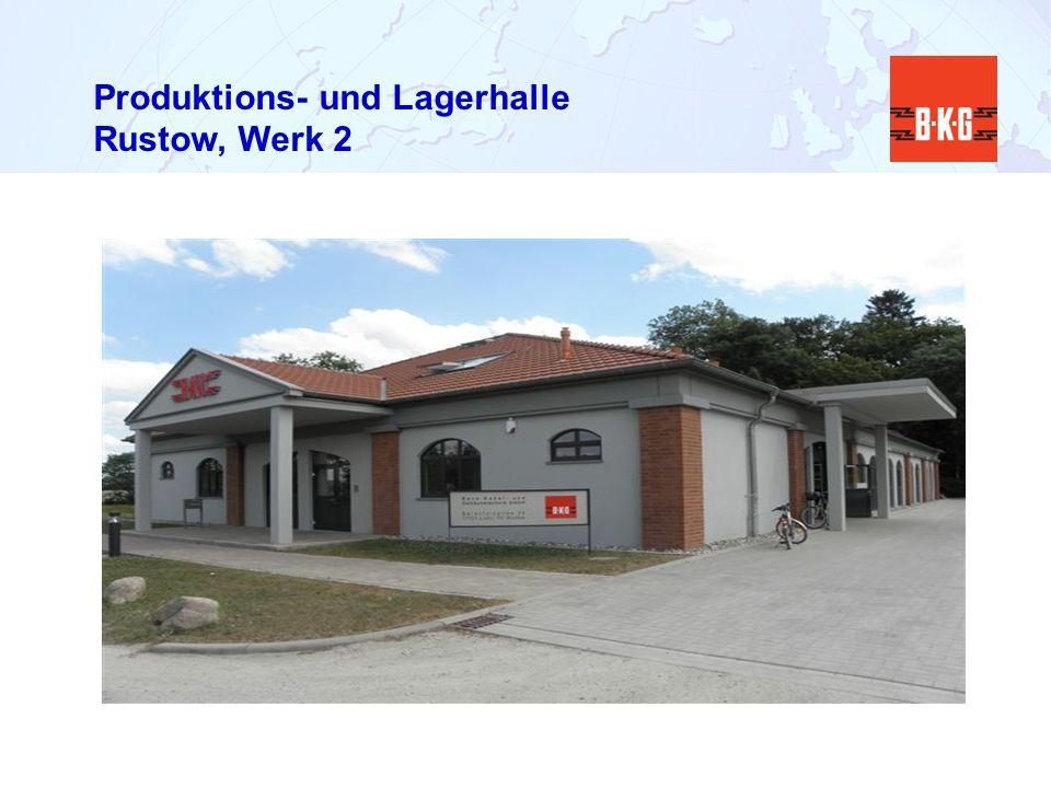 Produktions- und Lagerhalle Rustow, Werk 2