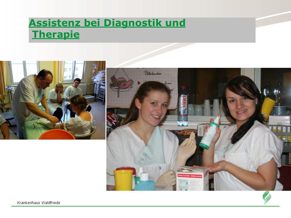Assistenz bei Diagnostik und Therapie