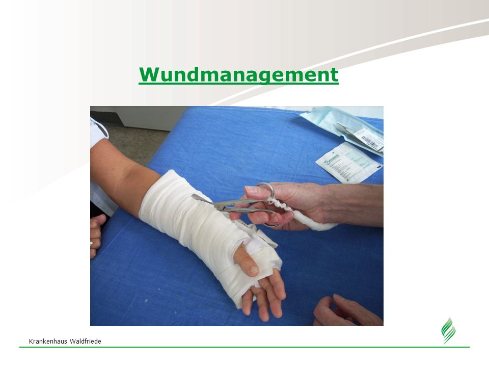 Wundmanagement Krankenhaus Waldfriede 20