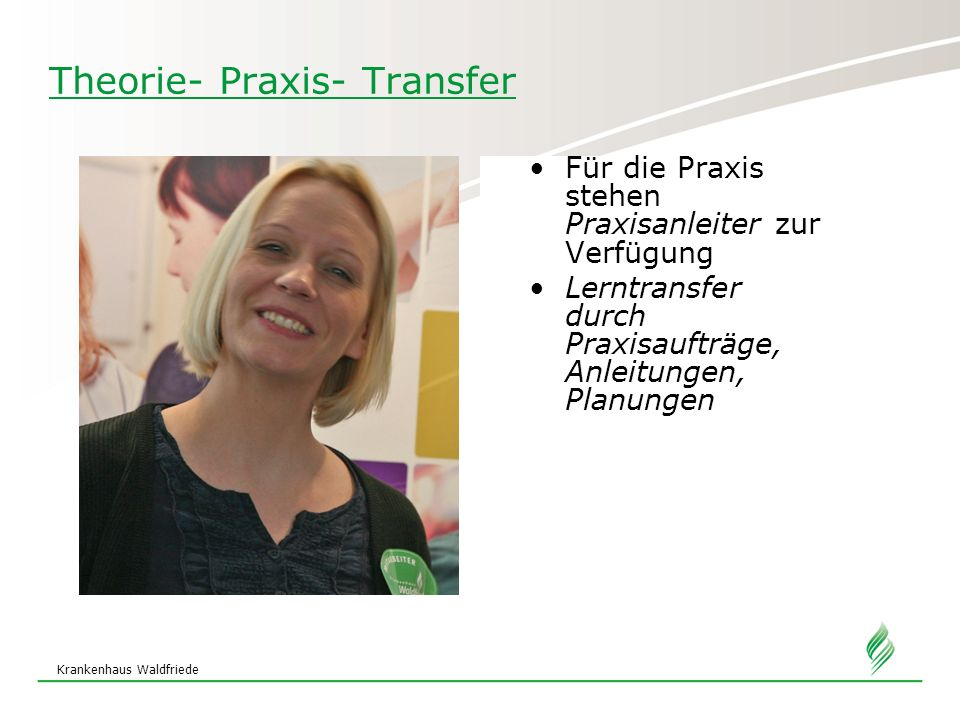 Theorie- Praxis- Transfer