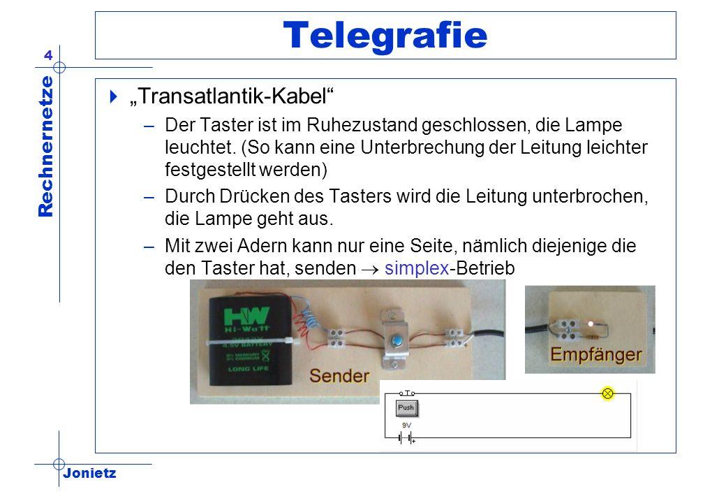 """Telegrafie """"Transatlantik-Kabel"""
