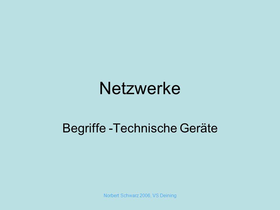 Begriffe -Technische Geräte