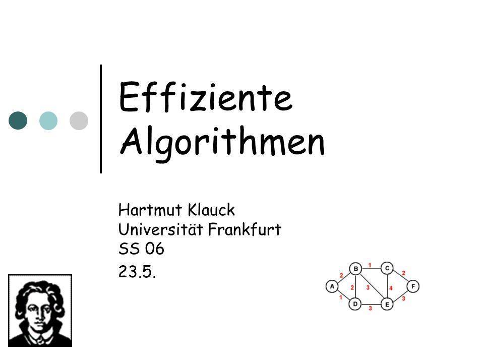 Effiziente Algorithmen