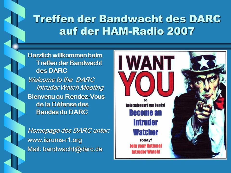 Treffen der Bandwacht des DARC auf der HAM-Radio 2007