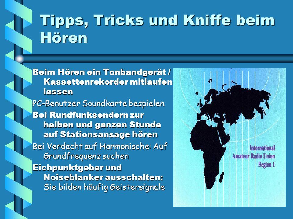Tipps, Tricks und Kniffe beim Hören
