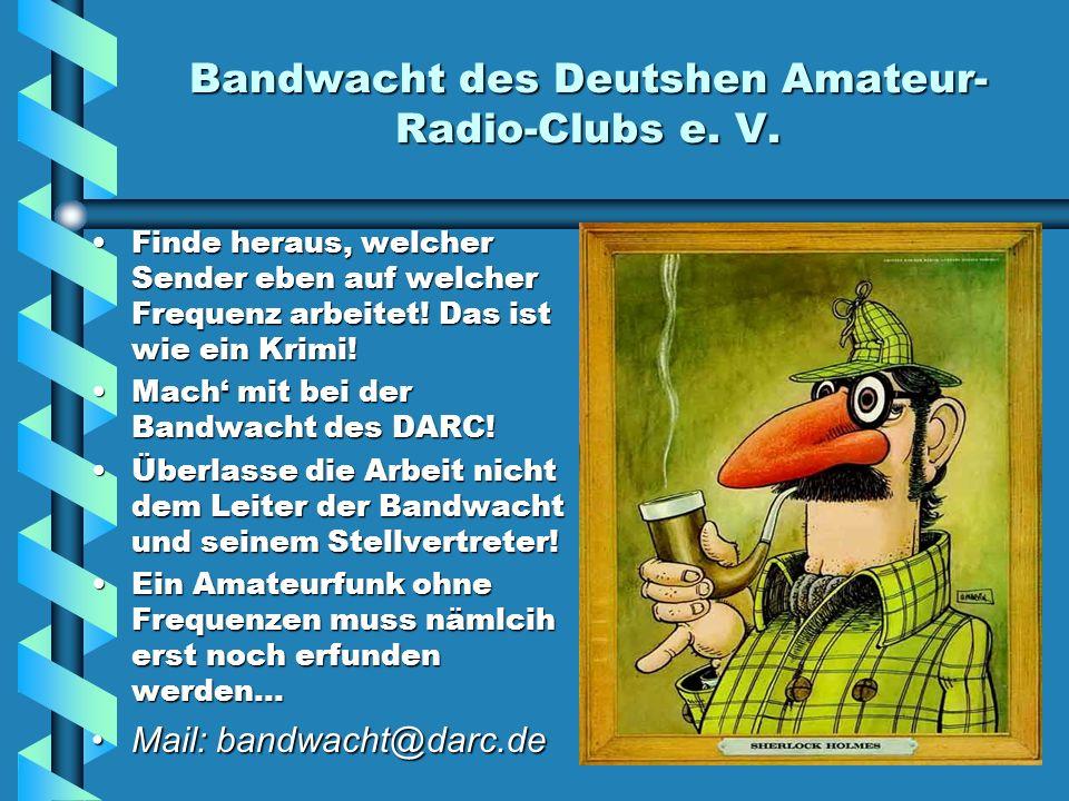 Bandwacht des Deutshen Amateur-Radio-Clubs e. V.