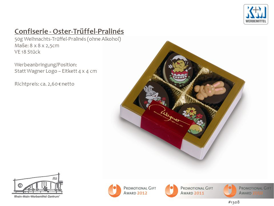 Confiserie - Oster-Trüffel-Pralinés
