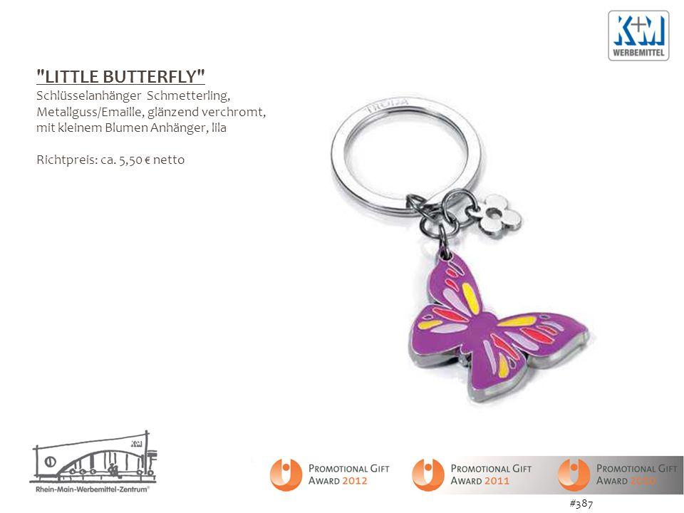 LITTLE BUTTERFLY Schlüsselanhänger Schmetterling,