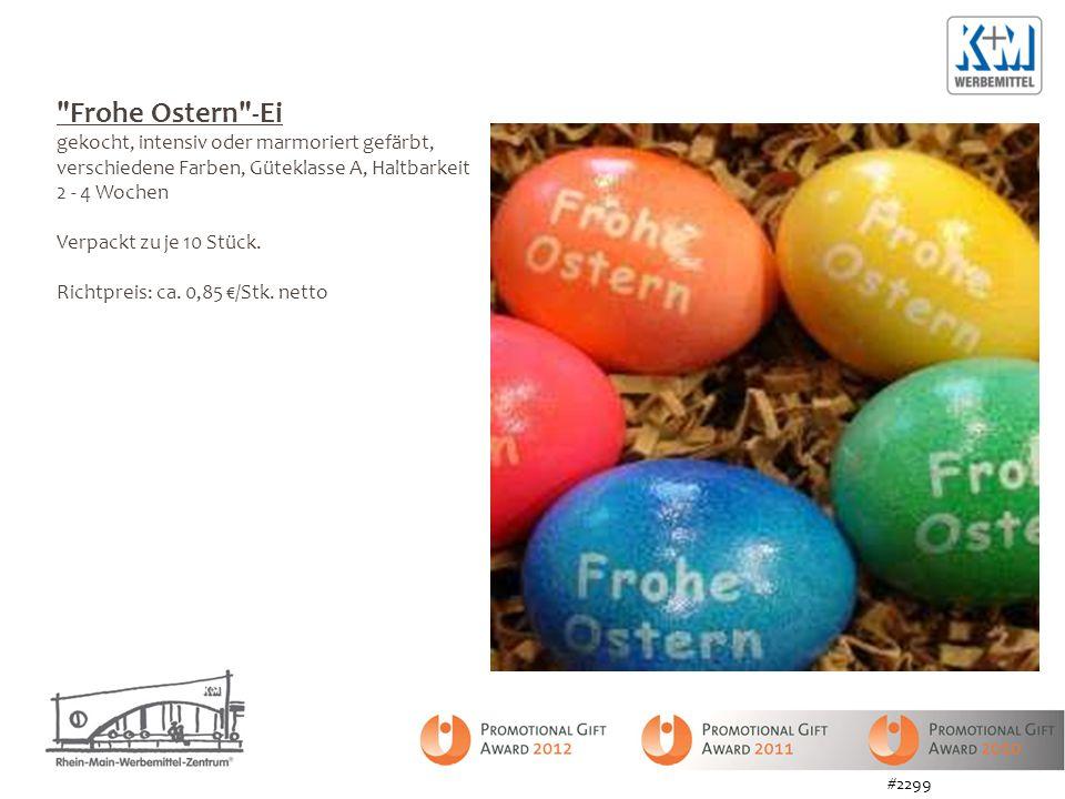 Frohe Ostern -Ei gekocht, intensiv oder marmoriert gefärbt, verschiedene Farben, Güteklasse A, Haltbarkeit 2 - 4 Wochen.